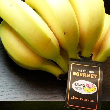 Etiqueta <br />Plátanos Ruiz